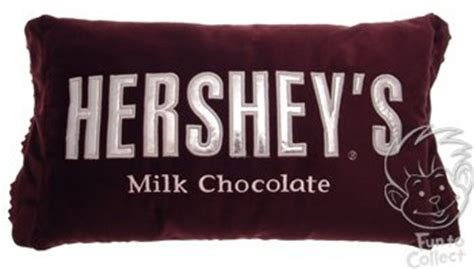 Hershey Bar Pillow by Bedding Hershey S Chocolate Bar Plush Pillow By