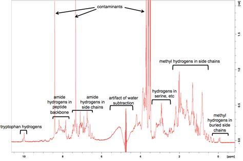 Proton Nmr Spectrum by Proton Nmr On Recombinant Prp