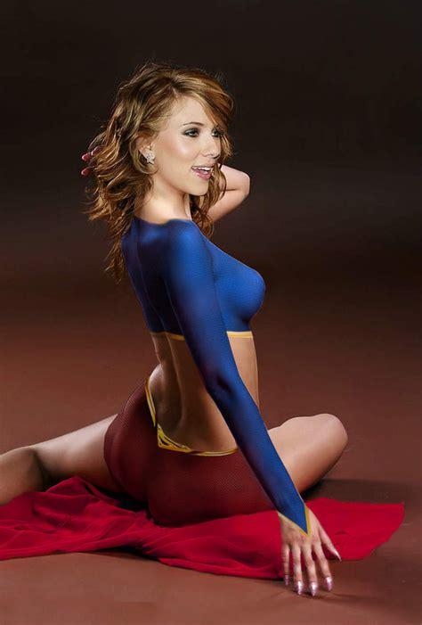 Brad Angelinas Like Supergirl by Johansson Supergirl By Thiagoca On Deviantart