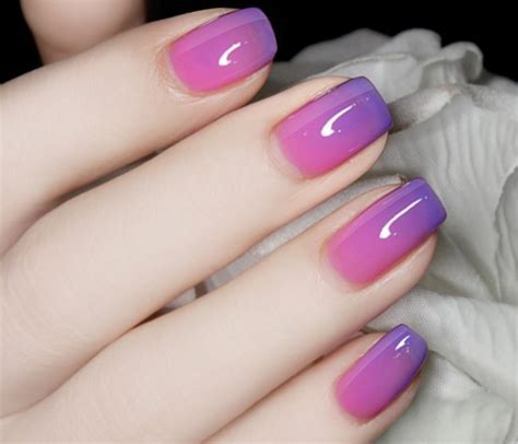chagne pink color best 25 temperature changing nail ideas on