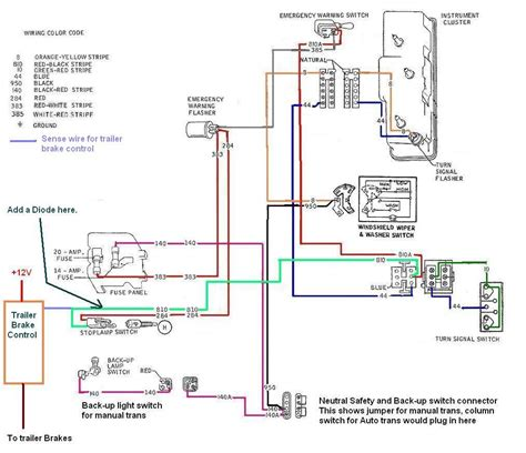 2007 ford f250 trailer brake controller wiring diagram