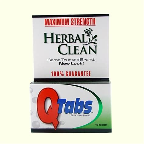 Does Herbal Clean Ultra Help Detox Pot by Herbal Clean Tabs Best 4 Test