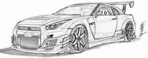 nissan skyline gt coloring pages sketch template