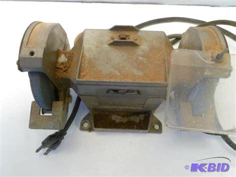 thor bench grinder thor model 946 3450 rpm bench grinder test