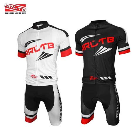 Bike Jersey Set buy arltb cycling jersey and bib shorts set bicycle bike sleeve jersey clothing