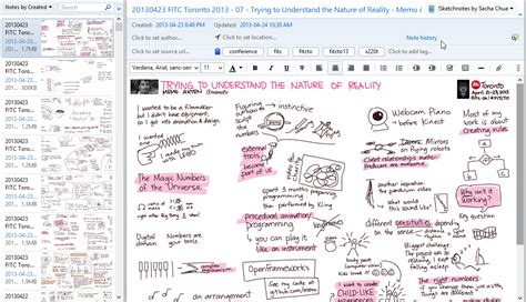 how i use evernote to support my sketchnoting practice