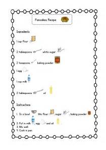simple pancakes recipe with pictures teaching resources blog