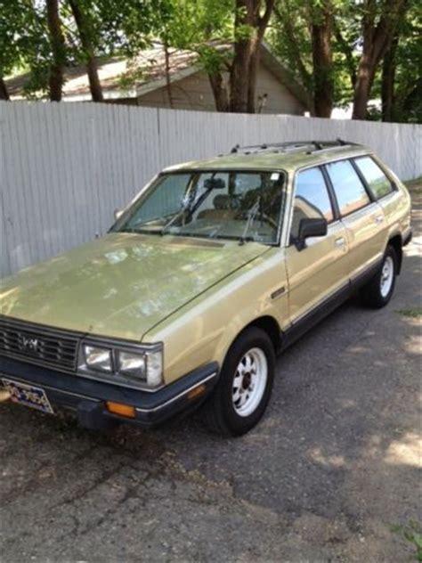 classic subaru wagon 1984 subaru gl 4wd wagon classic survivor