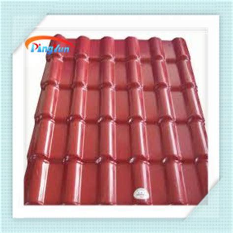 dachziegel aus kunststoff kunstharz dachziegel pvc kunststoff dach fliesen pvc