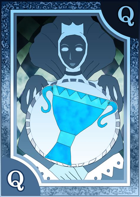 persona 4 card penalty persona 3 4 tarot card deck hr queen of cups by