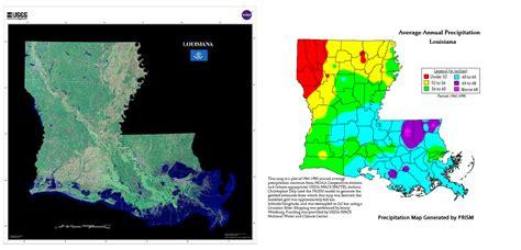 louisiana map climate change cocorahs community collaborative hail snow network
