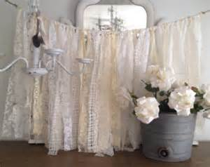 lace wedding garland shabby chic decor vintage wedding