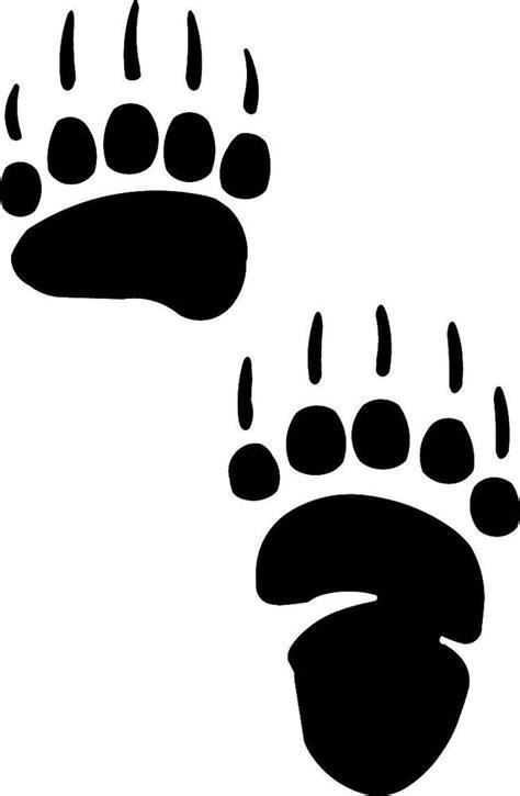 free bear paw print download free clip art free clip art
