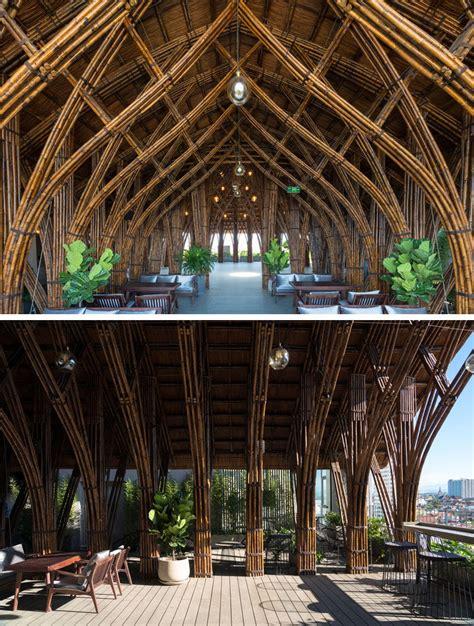 vtn architects  bamboo  create  cave