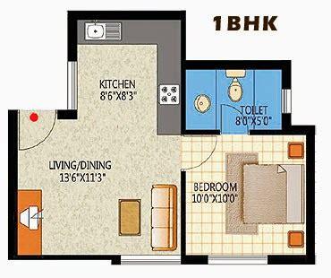 1bhk floor plan elegant 1bhk apartment floorplan design