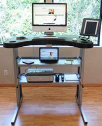 Kickstarter Gaming Desk Kickstarter Has An Answer When The Says No To A Treadmill Desk