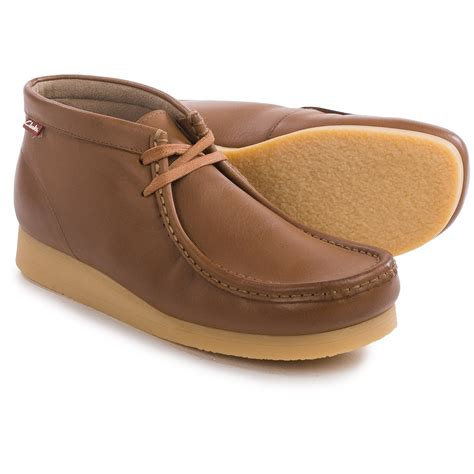 clarks mens chukka boots clarks stinson hi chukka boots for save 45