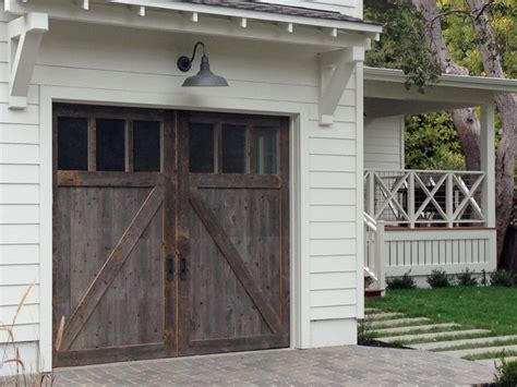 Barn Door Garage Door by Barn Wood Garage Doors In Marin County Traditional