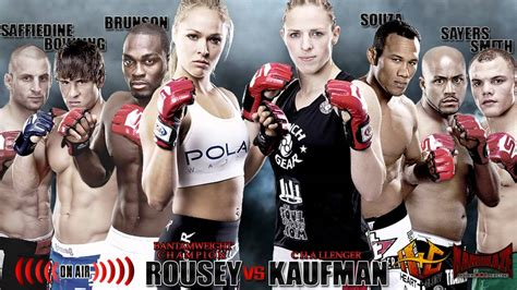 Mma Or Mba by Strikeforce Rousey Vs Kaufman Predictions Kamikaze