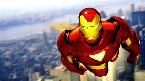 wallpaper cartoon ironman wallpapers gratuiti iron man