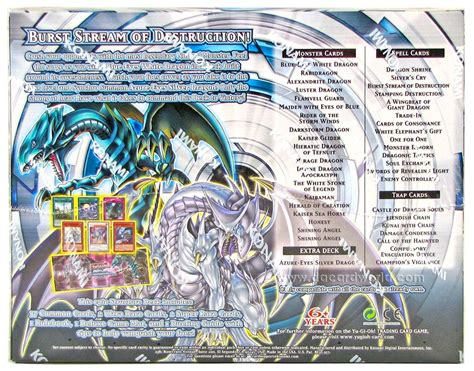 saga of blue white deck konami yu gi oh saga of the blue white