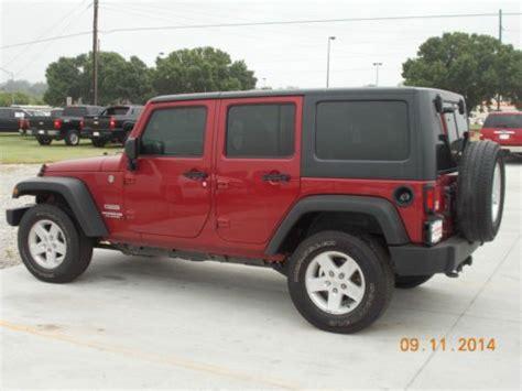 2013 4 Door Jeep Wrangler Purchase Used 2013 Jeep Wrangler Unlimited Sport Sport