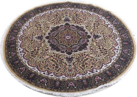 light gold area rugs new handmade 6 x 6 kashmir silk