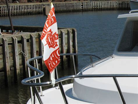 canadian boat flags available products canadian native flag