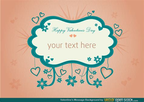 background for messages valentines message background free vector