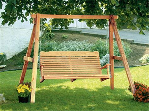 wooden porch swings  frame loccie  homes