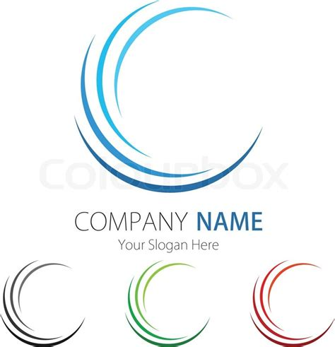 design logo business company business logo design stock vector colourbox