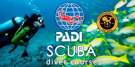 padi dive courses padi scuba diver courses poseidon diving station sri lanka