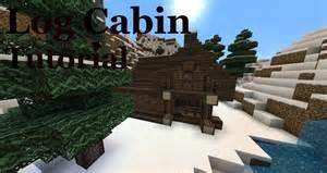 log cabin tutorial minecraft