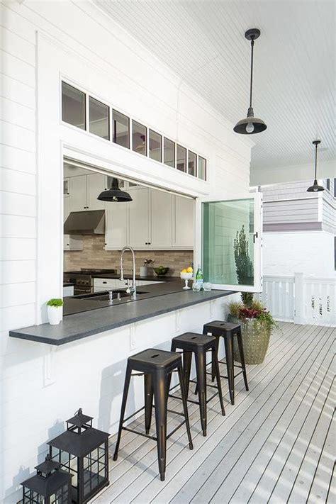 Kitchen Pass Through Window by Kitchen Pass Through Design Ideas