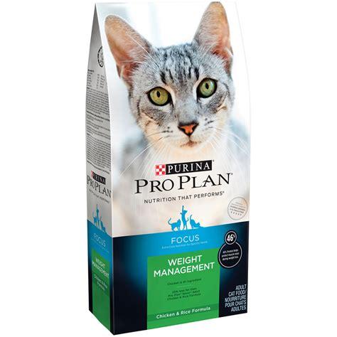 weight management cat food purina pro plan focus weight management cat