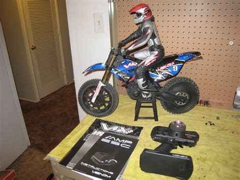 Rc Cross Motorrad Venom 450 by Venom 450 Vmx Dirtbike 1 4 R C Tech Forums
