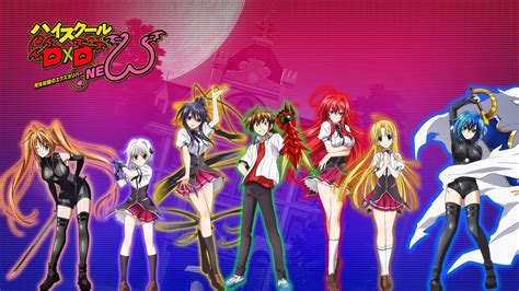 highschool dxd season 3 anime coppertellurium