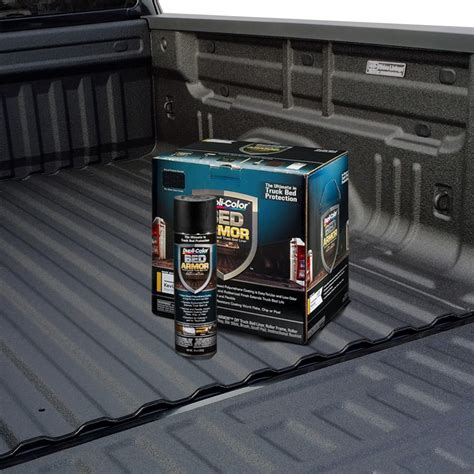 duplicolor bed armor spray colored bed liner custom coat urethane sprayon truck bed
