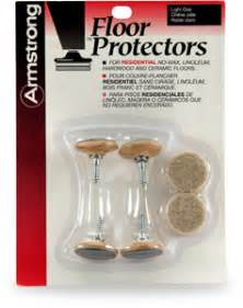 armstrong residential floor protectors brass