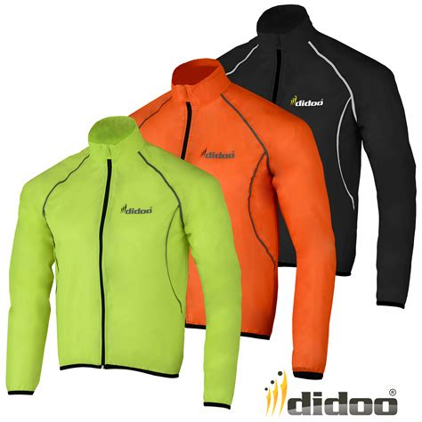 best cycling jacket mens cycling jacket high visibility waterproof running top