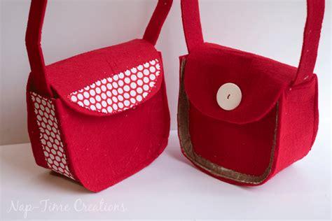 felt handbag pattern small felt purse pattern allfreesewing com