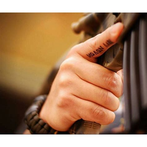 tattoo on trigger finger love this trigger finger tattoo i d totally get it molon