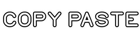 font design copy and paste copy paste font comments