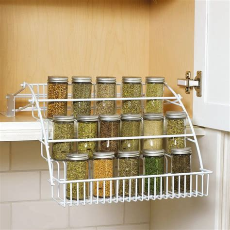 rubbermaid pull cabinet spice rack 17 best ideas about pull spice rack on