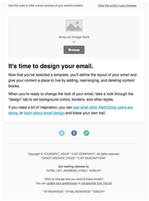 Mailchimp Tip 1 No 2baadf Please Color Is Branding Mailchimp Drag And Drop Custom Template