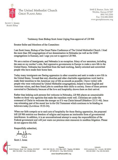 Confirmation Letter Methodist Renegade Gpconnect For Wednesday 24 February 2016 The Great Plains Conference