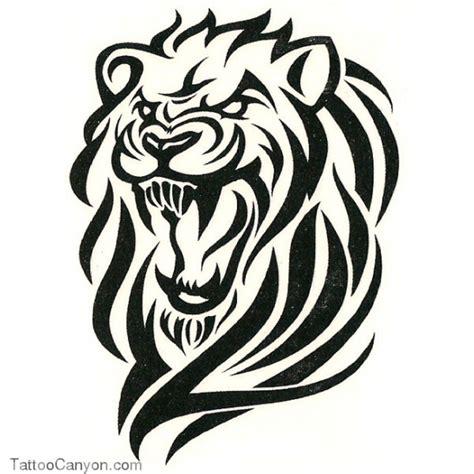 tribal lion tattoo angry tribal design tattoobite tatt it