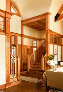 Arts And Crafts Homes Interiors Traditional Staircase By Wayne Windham Architect P A