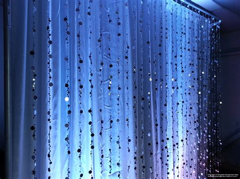 hanging crystal curtains chagne bubbles beaded curtains 3 feet by 6 feet 9