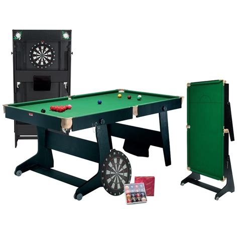 6ft Folding Pool Table Bce 6ft Folding Snooker Table With Dart Board Bce Snooker Table Dart Board All